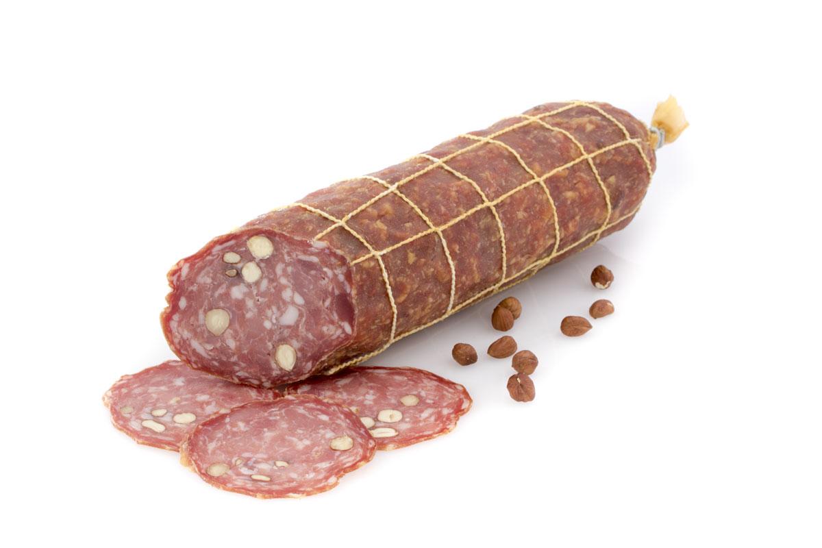 Saucisson pur porc noisettes - 0
